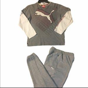 Puma pants/ top
